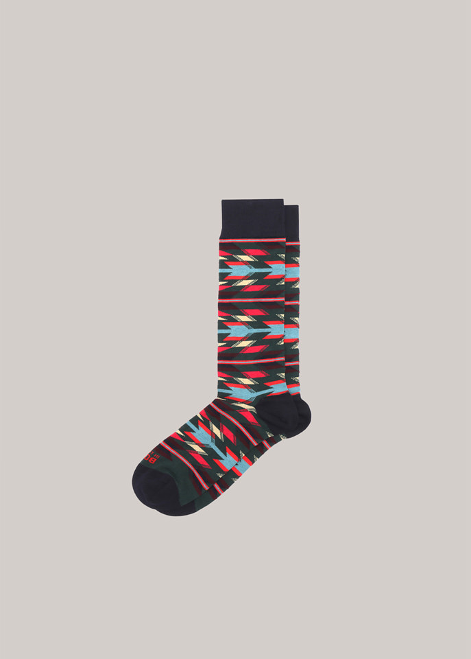 HOLUBAR: SOCKEN HOLUBAR IN THE BOX MOTIV NAVAJO