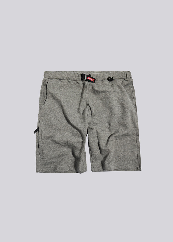 HOLUBAR: SHORTS IN FLEECE BF12 GRAY