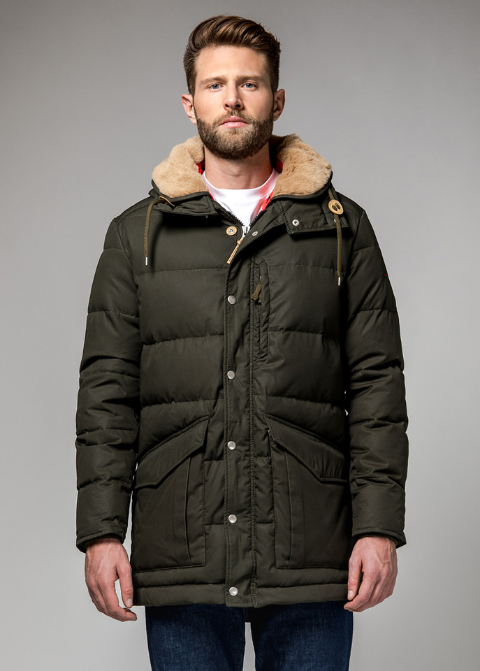HOLUBAR: ALCAN QUILTED HA12 JACKET COLOR DARK GREEN