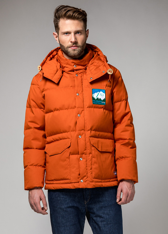 HOLUBAR: COLORADO LI77 JACKET COLOR DARK ORANGE