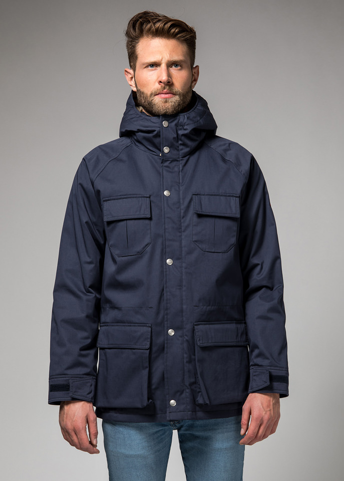 HOLUBAR: BLOUSON  DEER  HUNTER  LI77  NEW  BLEU