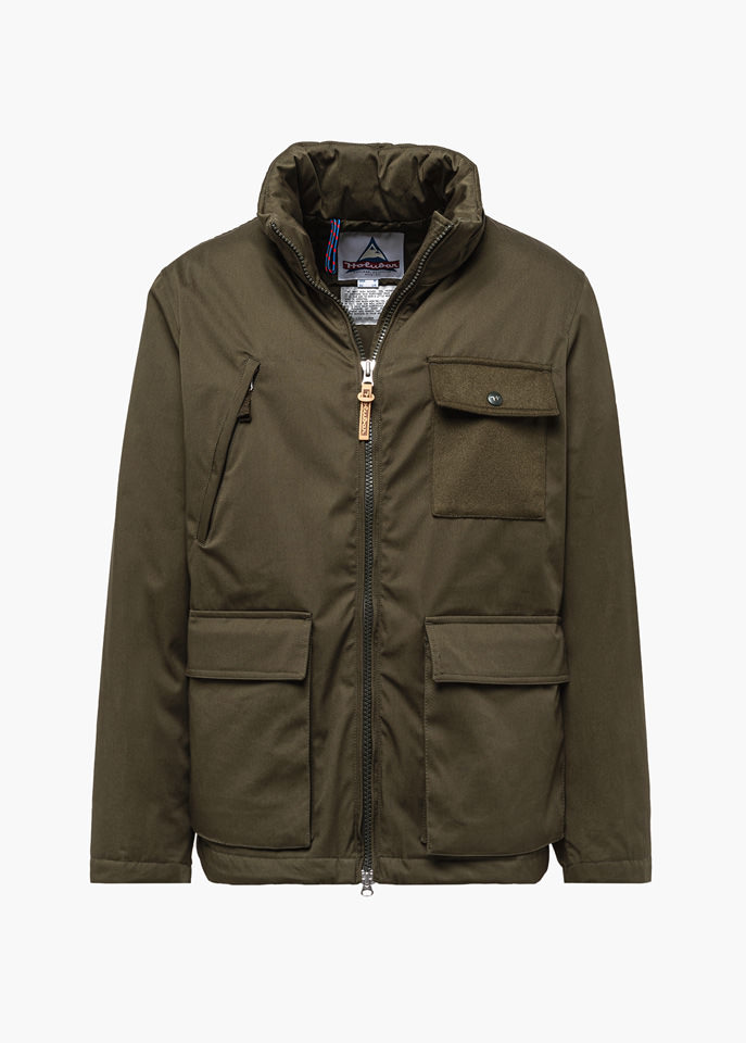 HOLUBAR: LIGHT HUNTER SL50 JACKET COLOR GREEN