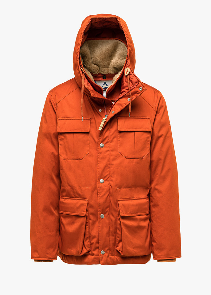 HOLUBAR: NORTH HUNTER LI77 JACKET COLOR ORANGE