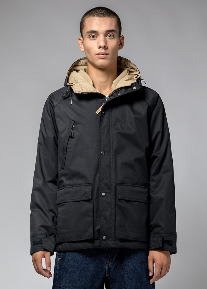 HOLUBAR: BLOUSON SHORT HUNTER LI77 NOIR