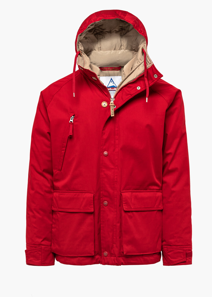 HOLUBAR: SHORT HUNTER LI77 JACKET COLOR RED