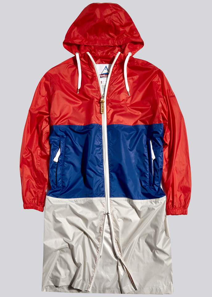 HOLUBAR: PARKA JACKET MORGAN BU15 RED