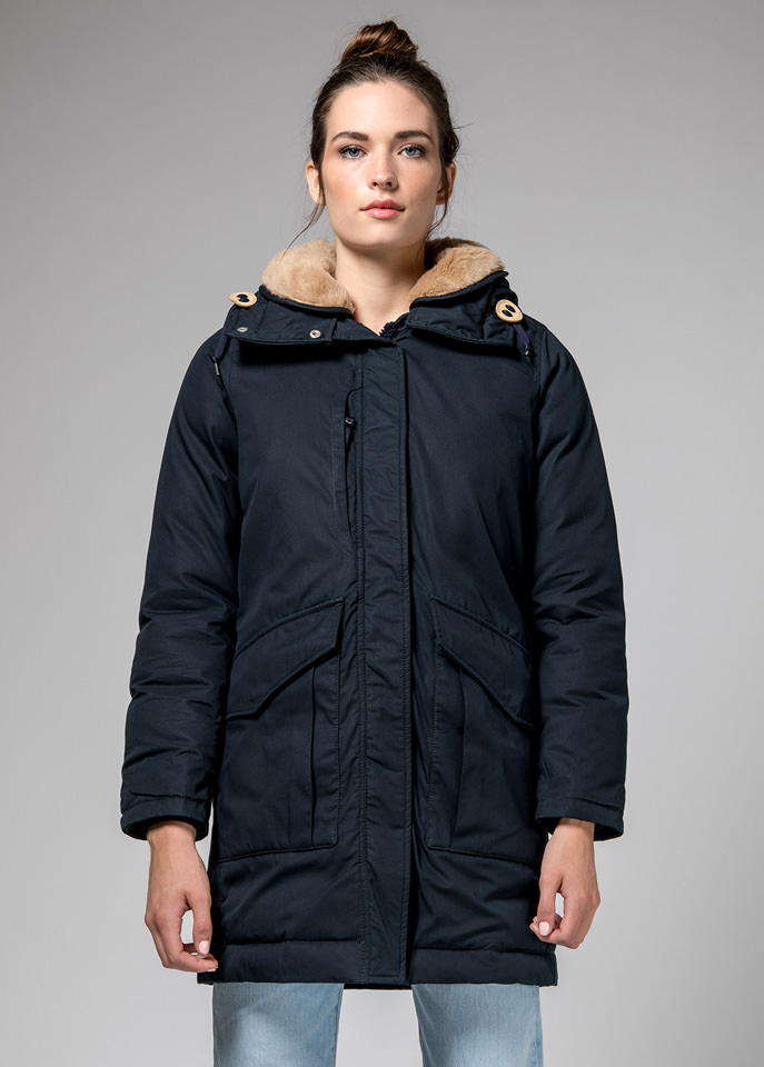 HOLUBAR: DARK  BLUE  ALCAN  HA12?  PARKA  JACKET