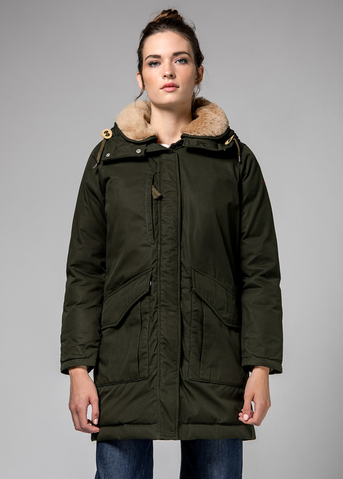 HOLUBAR: GREEN ALCAN HA12? PARKA JACKET