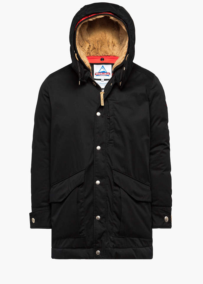 HOLUBAR: ALCAN LI77 PARKA JACKET COLOR BLACK