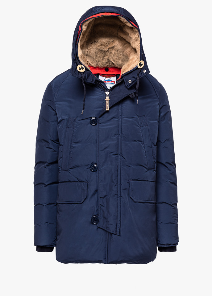 HOLUBAR: BOULDER LATITE NP23 PARKA JACKET COLOR BLUE