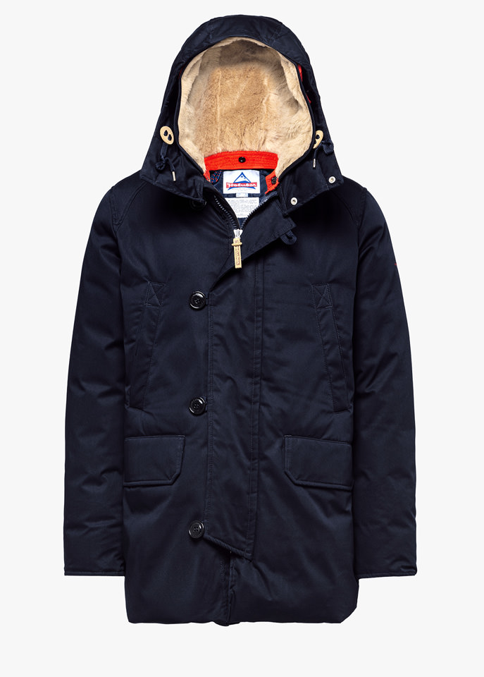HOLUBAR: BOULDER LI77 PARKA JACKET COLOR BLUE