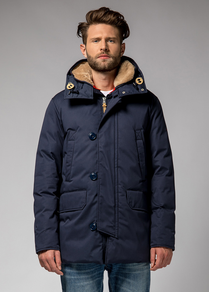 HOLUBAR: BOULDER LI77 PARKA JACKET COLOR NEW BLUE