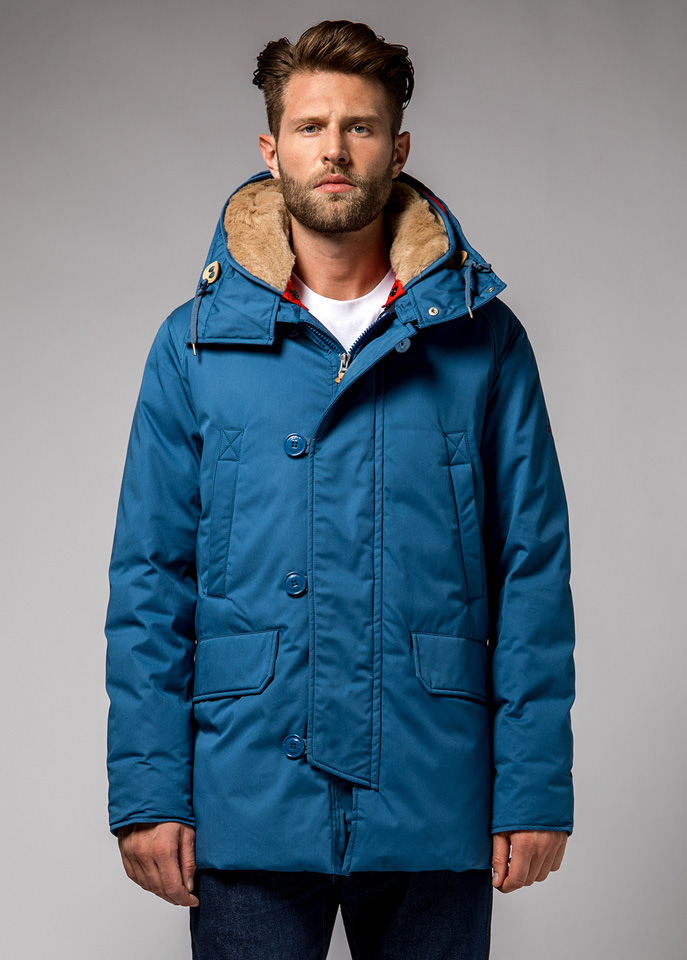 HOLUBAR: BOULDER LI77 PARKA JACKET COLOR NEW ROYAL