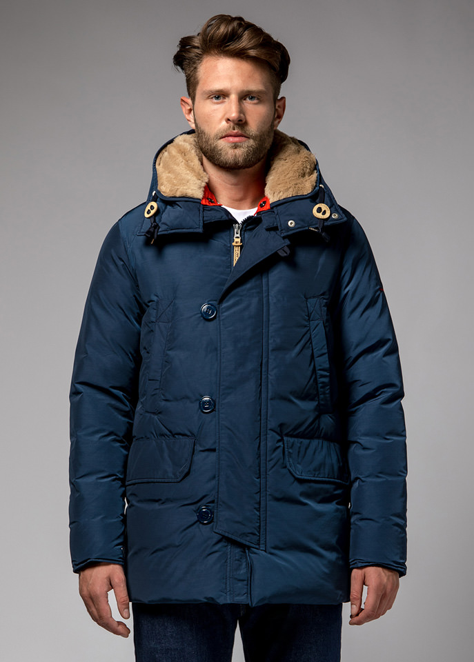 HOLUBAR: BOULDER NP23 PARKA JACKET COLOR DARK BLUE