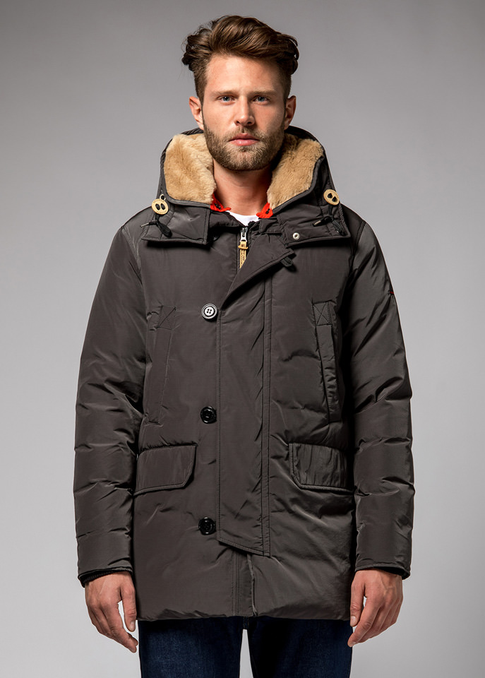 HOLUBAR: BOULDER NP23 PARKA JACKET COLOR GRAY