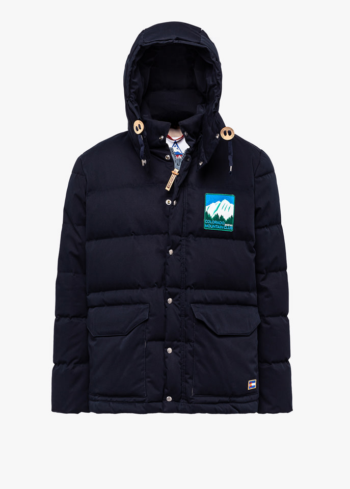 HOLUBAR: COLORADO LI77 BLUE PARKA JACKET