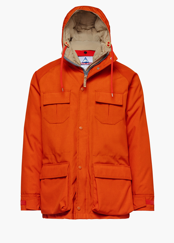 HOLUBAR: PARKA JACKET DEER HUNTER CORDURA CM20 PARKA JACKET COLOR ORANGE