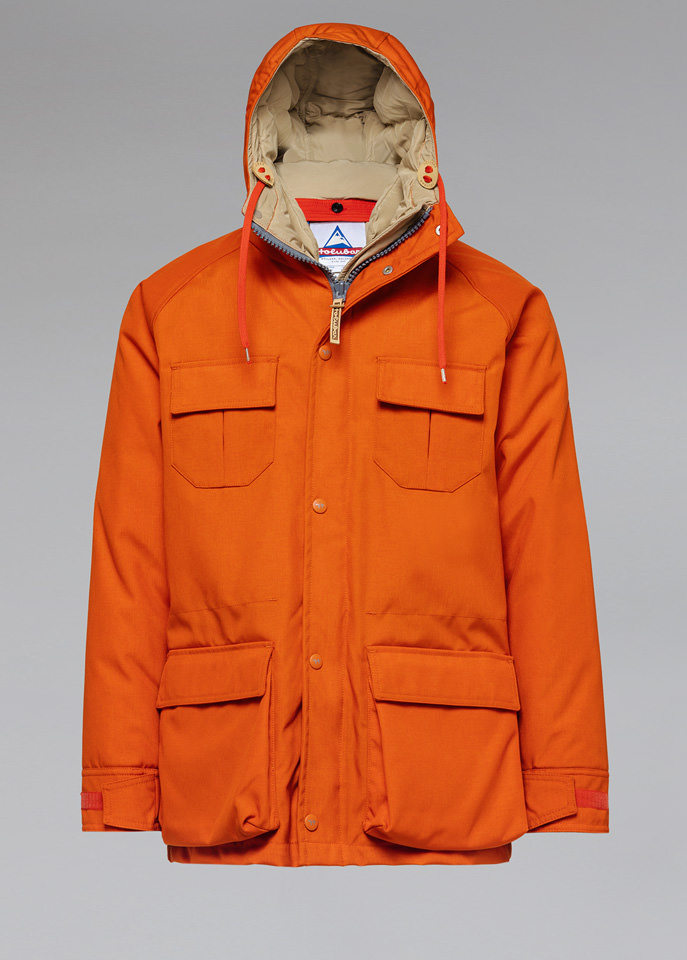 HOLUBAR: PARKA DEER HUNTER CORDURA CM20 ORANGE