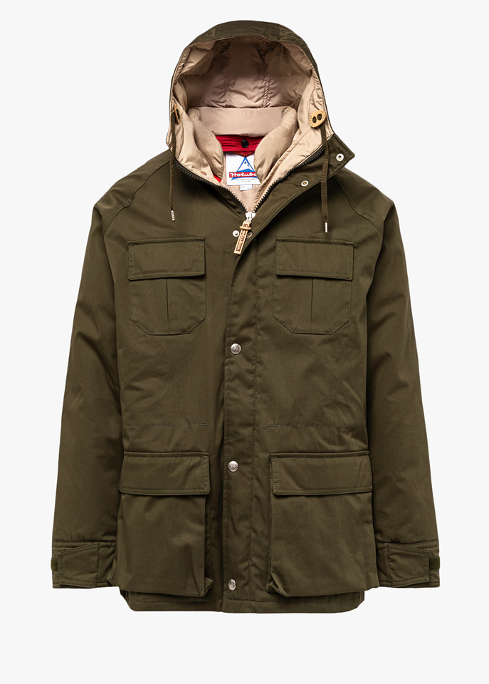 HOLUBAR: PARKA DEER HUNTER LI77 GRUN