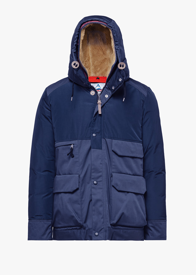 HOLUBAR: METRO MOUNTAIN NL27 PARKA JACKET COLOR BLUE