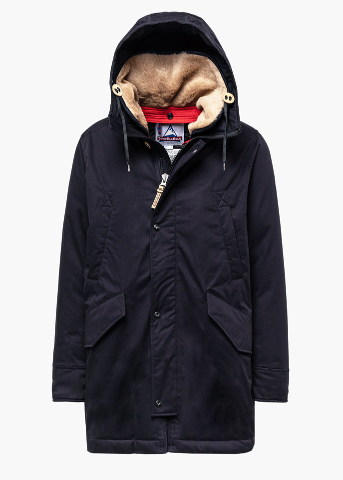 HOLUBAR: SUN VALLEY LI77 PARKA JACKET COLOR BLUE