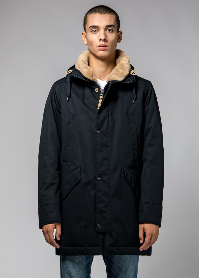 HOLUBAR: SUN VALLEY PARKA JACKET LI77 COLOR DARK BLUE