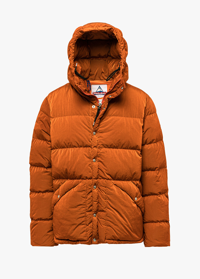 HOLUBAR: DEEP POWDER DY50 DOWN JACKET COLOR ORANGE