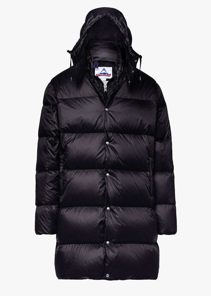 HOLUBAR: MUSTANG LONG BU15 DOWN JACKET COLOR BLACK