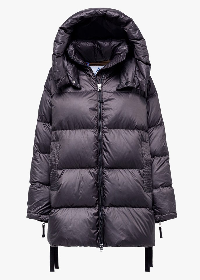 HOLUBAR: MUSTANG MID BU15 DOWN JACKET COLOR GRAY