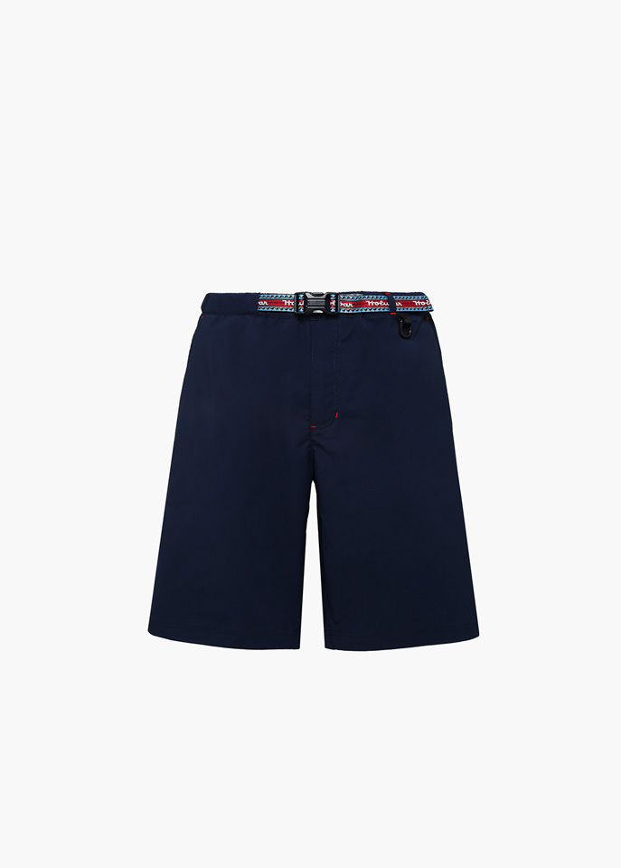 HOLUBAR: TRAVELLER PY20 SHORTS COLOR BLUE