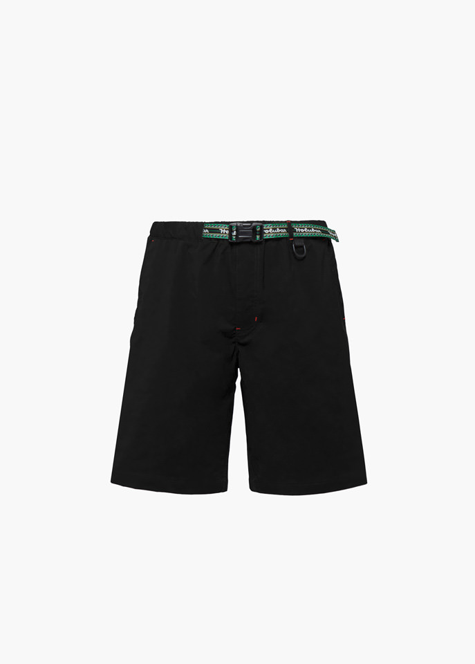 HOLUBAR: TRAVELLER PY20 SHORTS COLOR BLACK