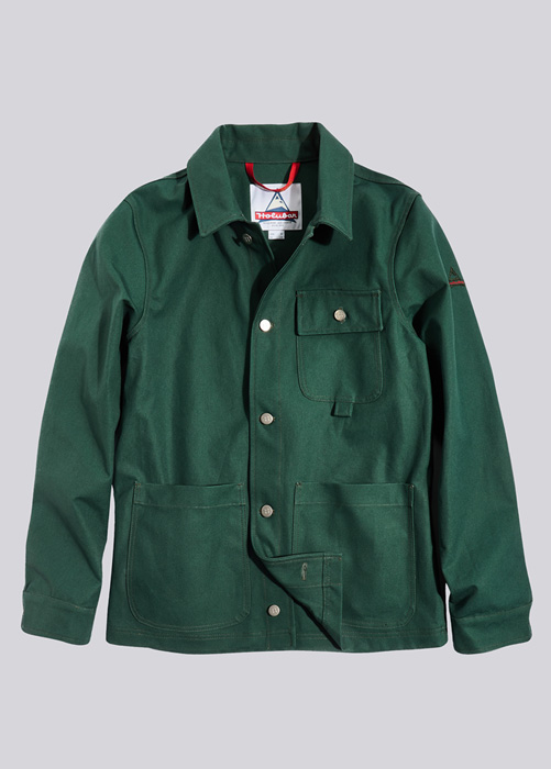 HOLUBAR: JACKET BERKELEY CC33 GREEN