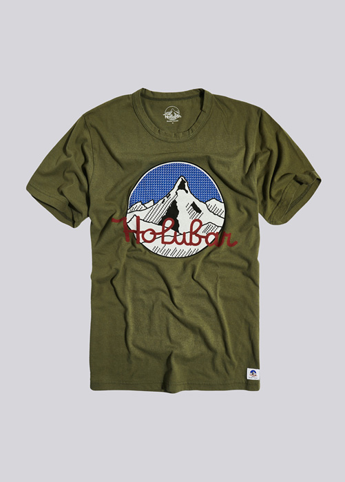 HOLUBAR BOCO T-SHIRT PC64 GREEN