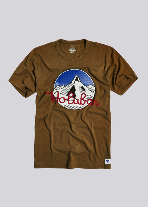 HOLUBAR T-SHIRT BOCO PC64 MARRONE
