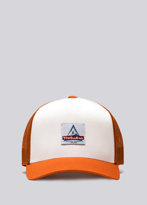HOLUBAR TRUCKER HAT HA12 ORANGE