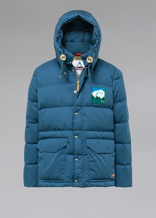 HOLUBAR: COLORADO LI77 LIGHT BLUE PARKA JACKET