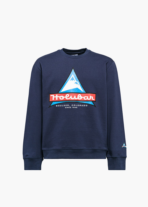 HOLUBAR JJ20 LOGO SWEATSHIRT COLOR BLUE