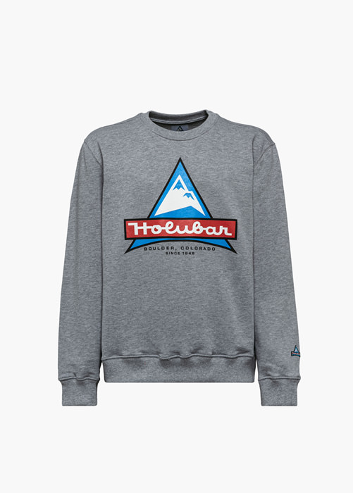 HOLUBAR JJ20 LOGO SWEATSHIRT COLOR GRAY
