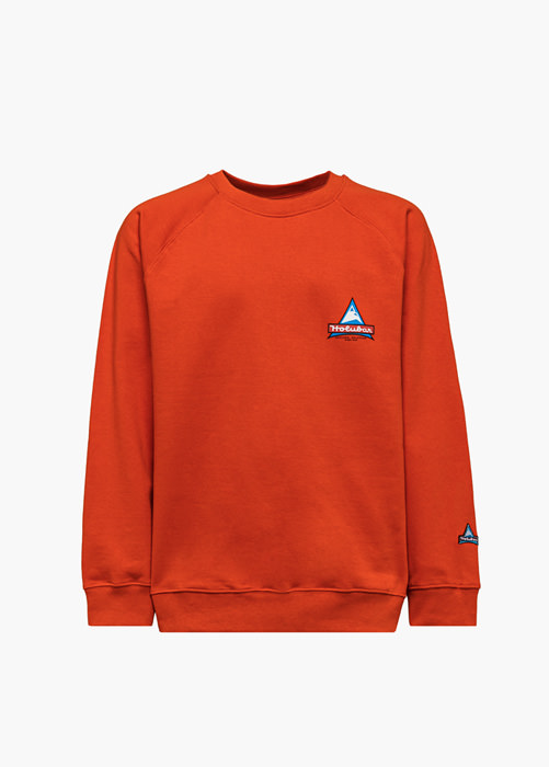 HOLUBAR JJ20 PEAK SWEATSHIRT COLOR ORANGE