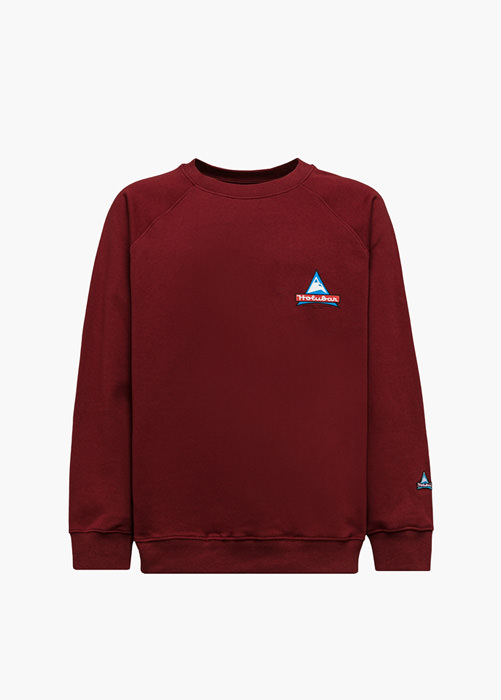 HOLUBAR JJ20 PEAK SWEATSHIRT COLOR BURGUNDY