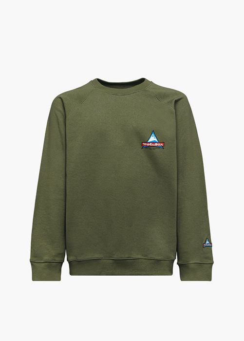 HOLUBAR JJ20 PEAK SWEATSHIRT COLOR GREEN