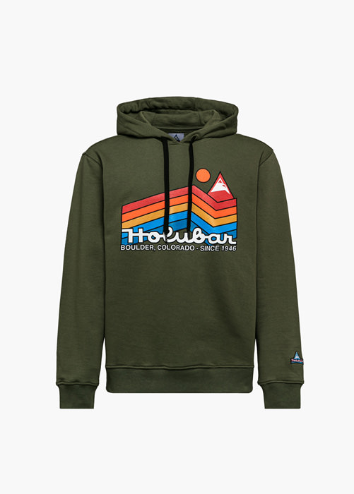 HOLUBAR JJ20 RAINBOW SWEATSHIRT COLOR GREEN
