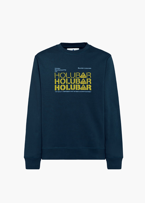 HOLUBAR: TRIPLE H BF12 BLUE SWEATSHIRT