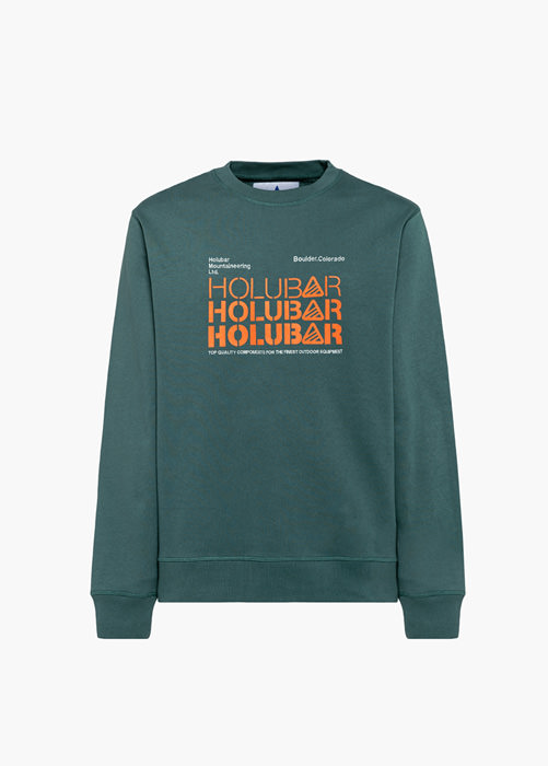 HOLUBAR: TRIPLE H BF12 GREEN SWEATSHIRT