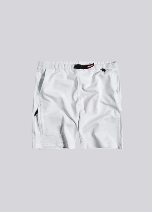 HOLUBAR: SHORTS IN FLEECE BF12 WHITE