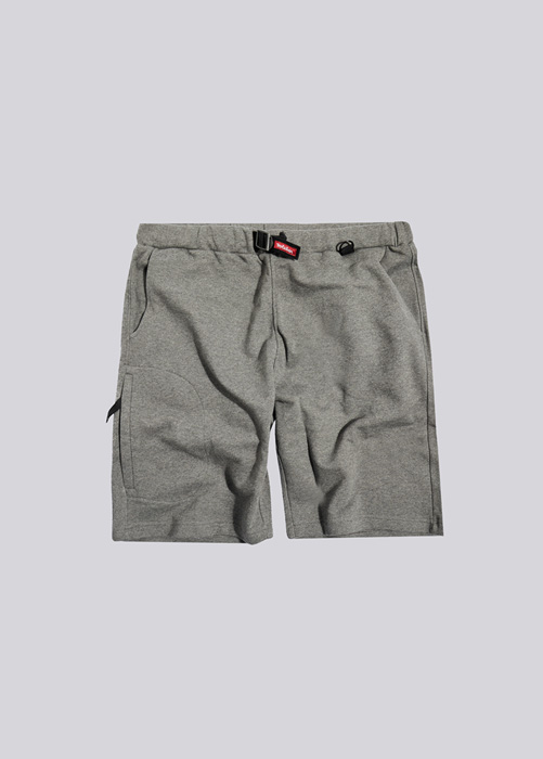 HOLUBAR SHORTS IN FLEECE BF12 GRAY