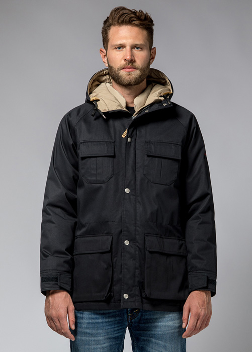 HOLUBAR: DEER HUNTER JACKET LI77 COLOR BLACK