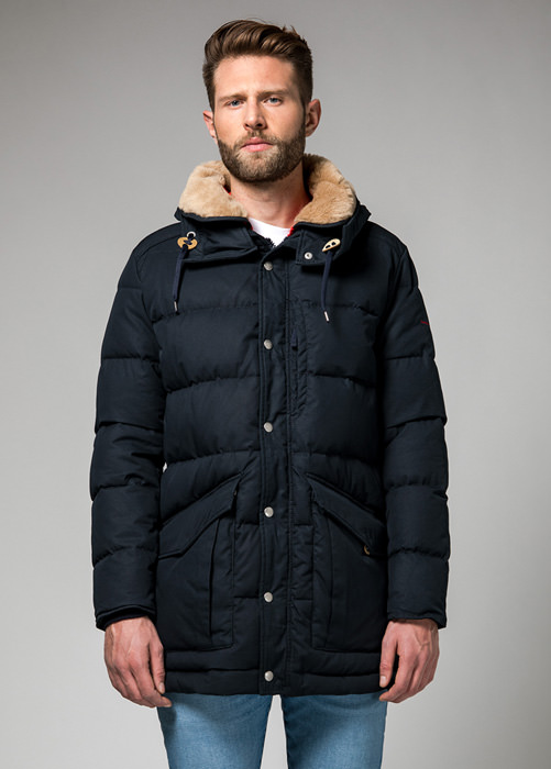 HOLUBAR: ALCAN QUILTED HA12 JACKET COLOR DARK BLUE