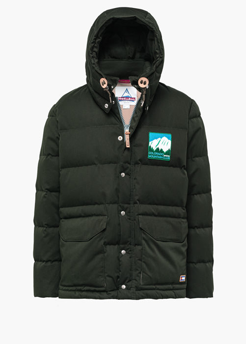 HOLUBAR COLORADO LI77 GREEN PARKA JACKET