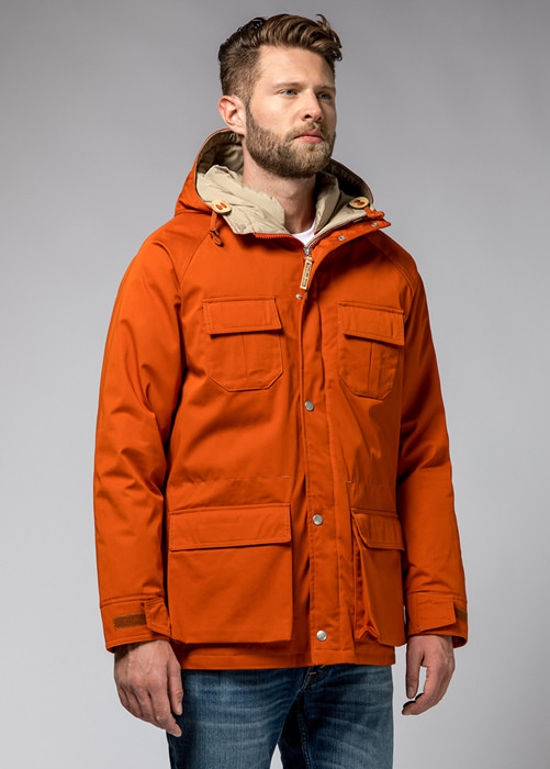 HOLUBAR: DEER HUNTER JACKET LI77 COLOR ORANGE